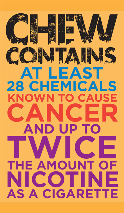 Cancer Causing Chemicals in Smokeless Tobacco