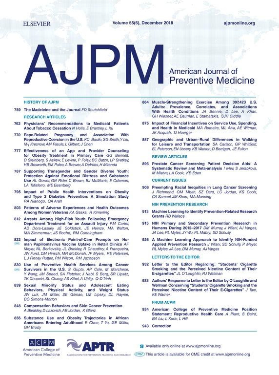 AJPM cover