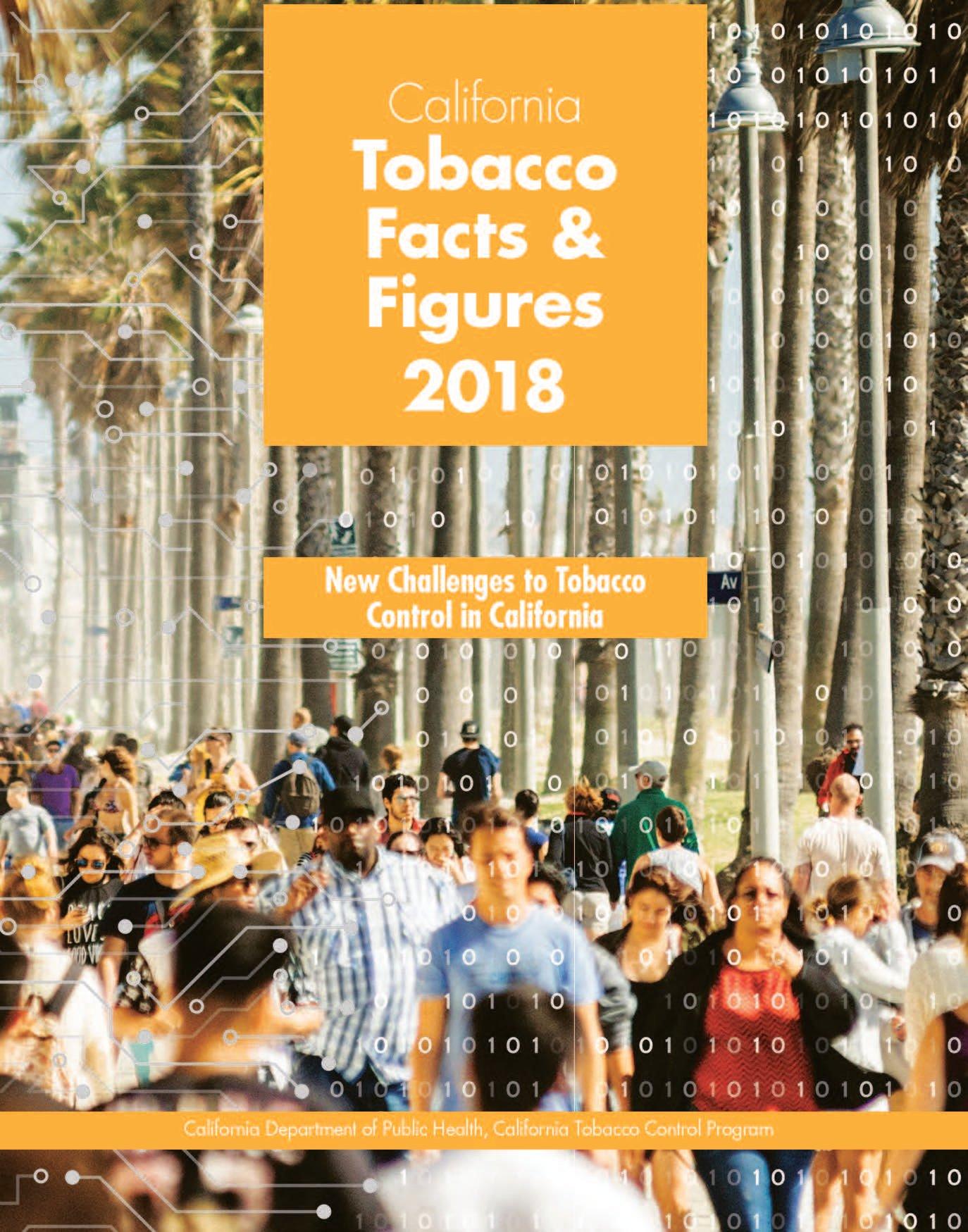 CATobaccoFactsFigures2018 Cover