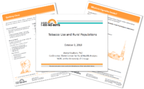 Tobacco Use and Rural Populations